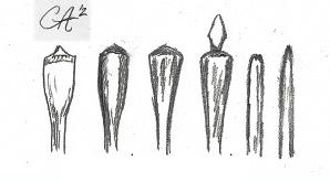 Flechas de Madeira